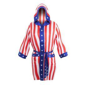 Rocky USA Flag Robe and Boxers Set