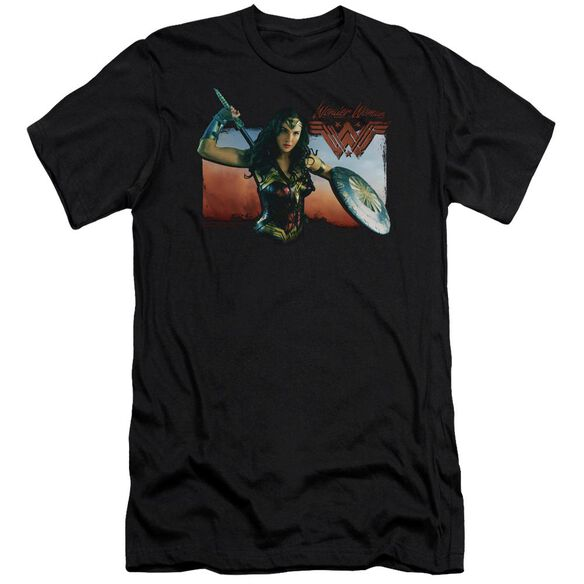 Wonder Woman Movie Warrior Woman Hbo Short Sleeve Adult T-Shirt