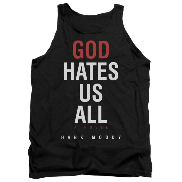 Californication Book Cover - Adult Tank - Black