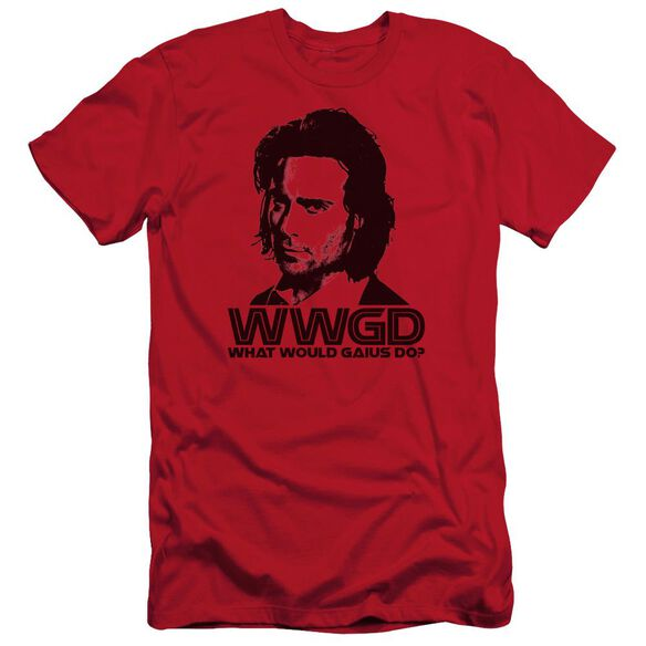 BSG WWGD - S/S ADULT 30/1 - RED T-Shirt