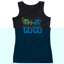 Wham Wake Me Up Before You Go Go Juniors Tank Top