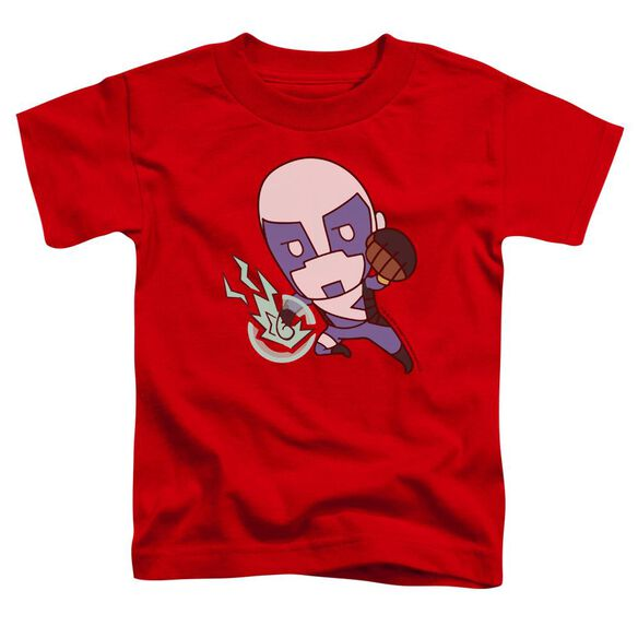 Valiant Quantum Emoji Short Sleeve Toddler Tee Red T-Shirt