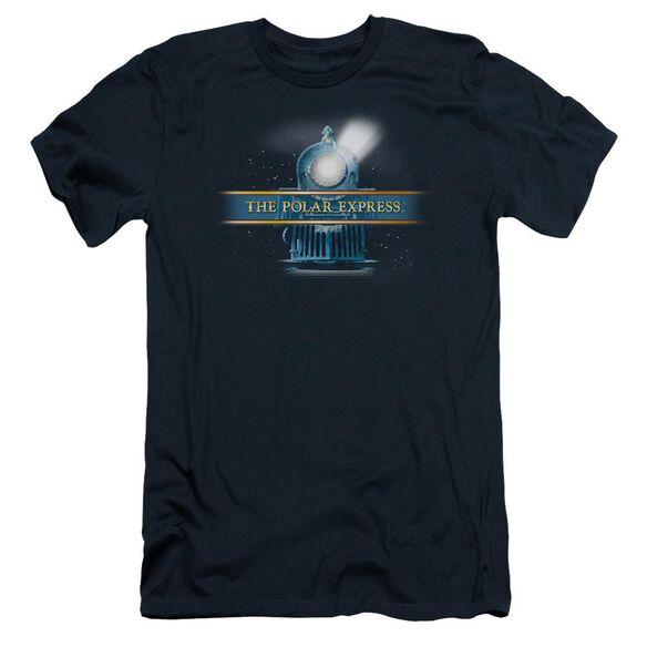 Polar Express Train Logo Short Sleeve Adult T-Shirt