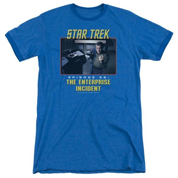St Original The Enterprise Incident Adult Heather Ringer Royal Blue