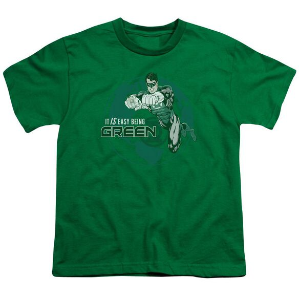 GL EASY BEING GREEN - S/S YOUTH 18/1 - KELLY GREEN T-Shirt