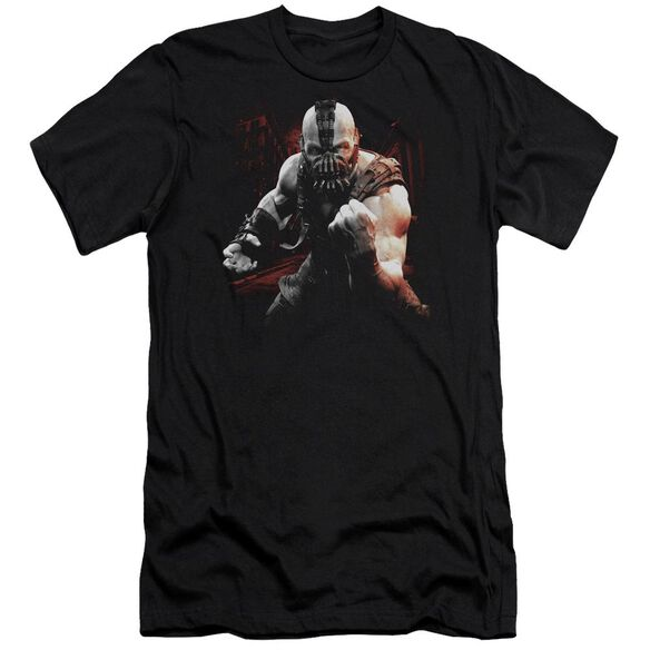 Dark Knight Rises Bane Battleground Short Sleeve Adult T-Shirt