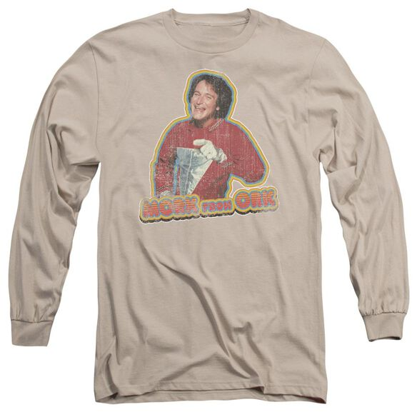 Mork & Mindy Mork Iron On Long Sleeve Adult T-Shirt