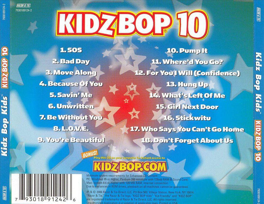 Kidz Bop 10 by Kidz Bop Kids - Used on CD | FYE
