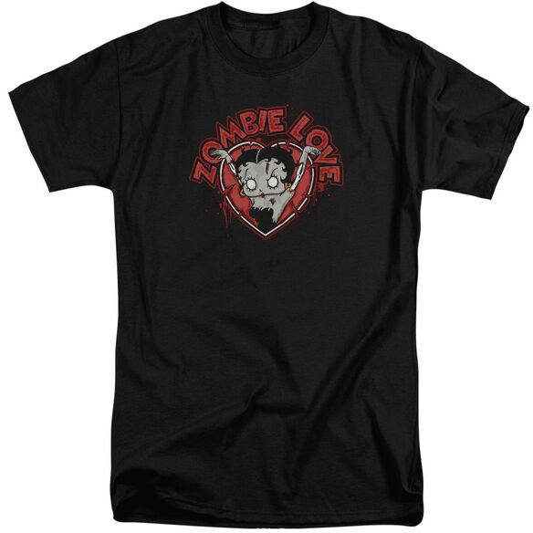 Betty Boop Heart You Forever Short Sleeve Adult Tall T-Shirt