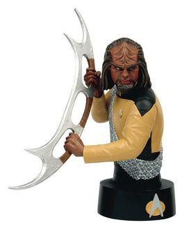 Star Trek Busts Collection - #3 Worf