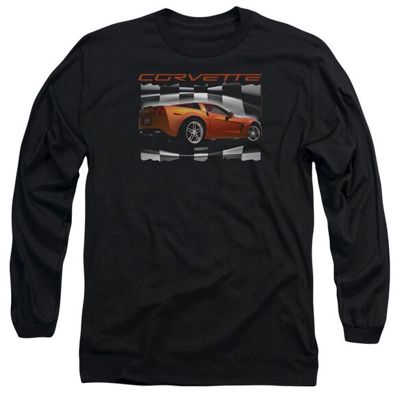 Chevrolet Orange Z06 Vette Long Sleeve Adult T-Shirt