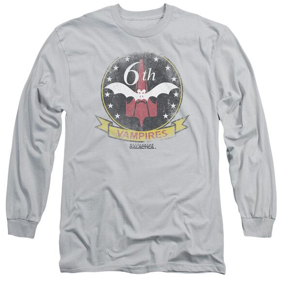 Bsg Vampires Badge Long Sleeve Adult T-Shirt
