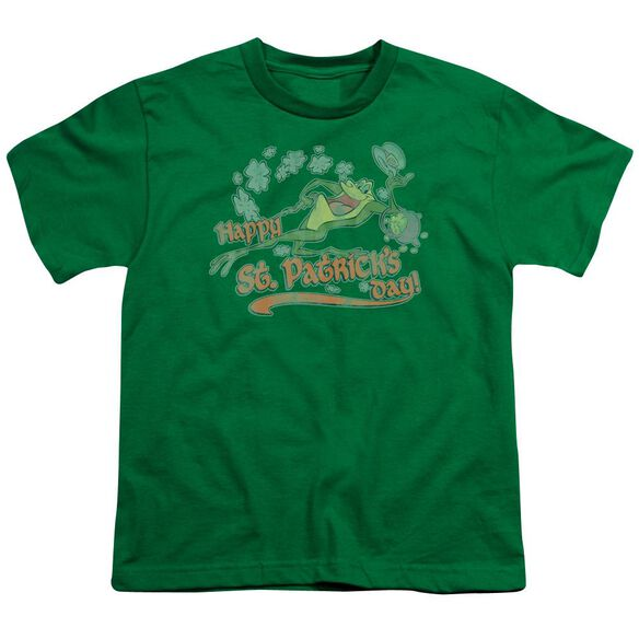 Looney Tunes Michigan J Short Sleeve Youth Kelly T-Shirt