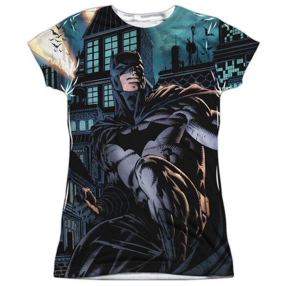 Batman Coming For You Short Sleeve Junior Poly Crew T-Shirt