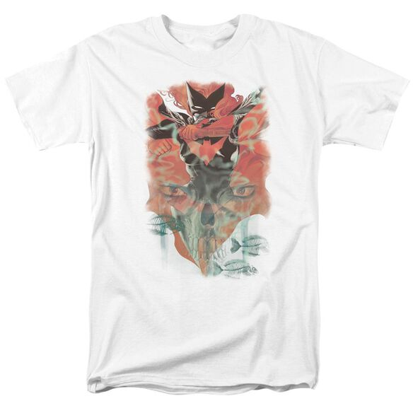 Batman Batwoman #1 Short Sleeve Adult White T-Shirt