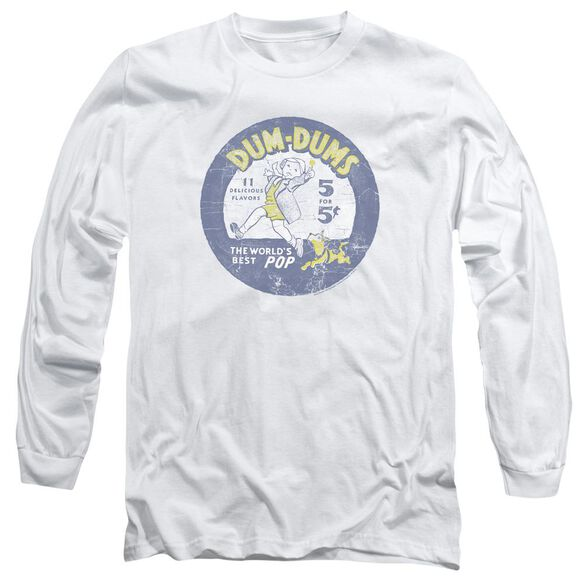 Dum Dums Pop Parade Long Sleeve Adult T-Shirt