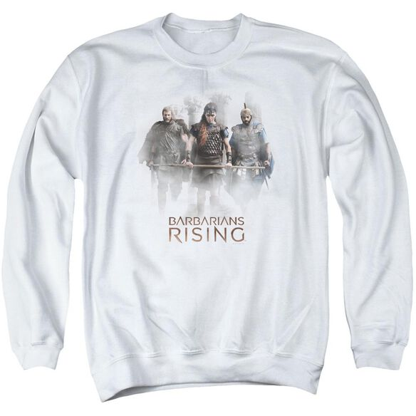 Barbarians Rising Three Barbarians Adult Crewneck Sweatshirt