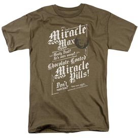 Pb Miracle Max Short Sleeve Adult Safari Green T-Shirt