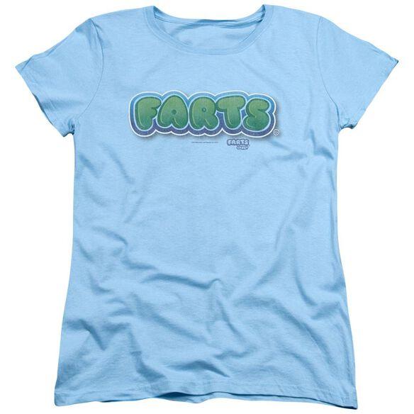 Farts Candy Logo Short Sleeve Womens Tee Light T-Shirt