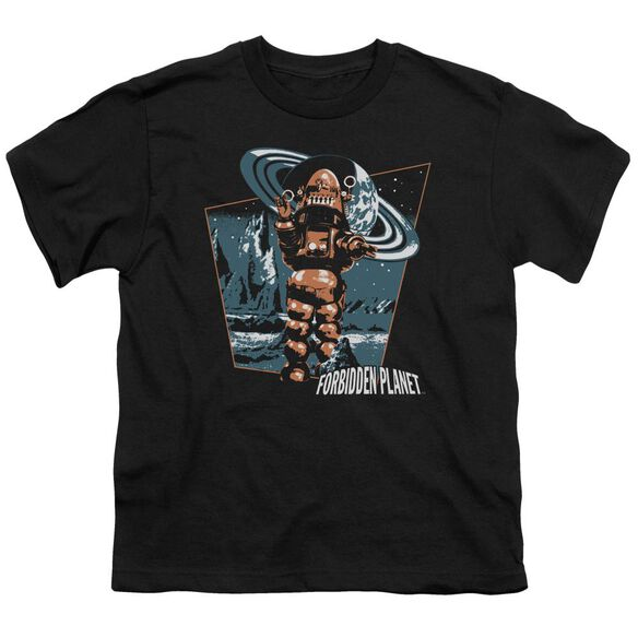 Forbidden Planet Robby Walks Short Sleeve Youth T-Shirt