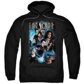 Farscape Comic Cover Adult Pull Over Hoodie