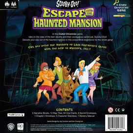 Scooby-Doo: Escape from the Haunted Mansion A Coded Chronicles Game