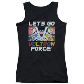 Voltron Lets Go Juniors Tank Top