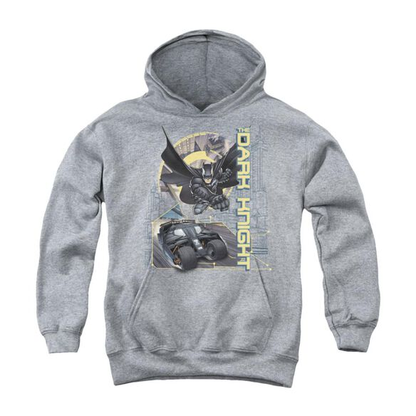 Dark Knight City Is Safe Tonight Youth Pull Over Hoodie
