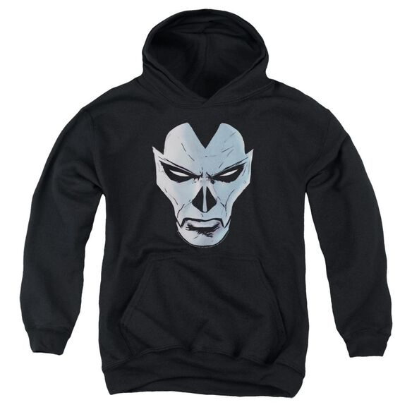 Shadowman Comic Face Youth Pull Over Hoodie
