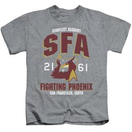 Star Trek Sfa Fighting Phoenix Short Sleeve Juvenile Athletic Heather T-Shirt