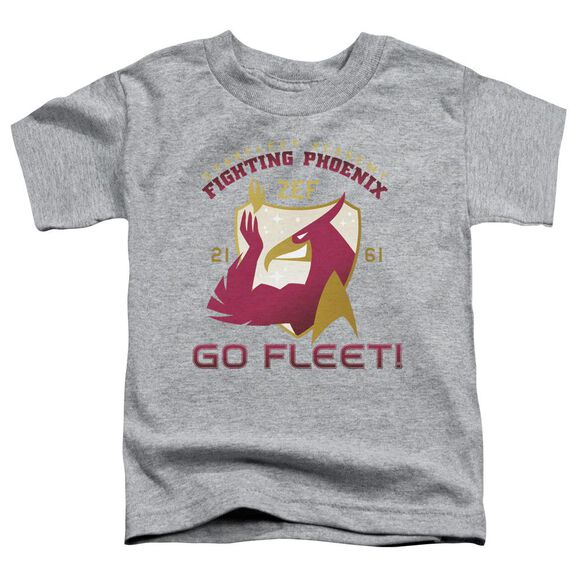 Star Trek Fighting Phoenix Short Sleeve Toddler Tee Athletic Heather Md T-Shirt