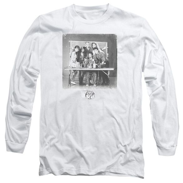 Saved By The Bell Class Photo Long Sleeve Adult T-Shirt
