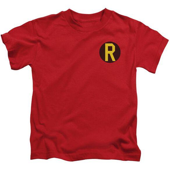 Dc Robin Logo Short Sleeve Juvenile T-Shirt