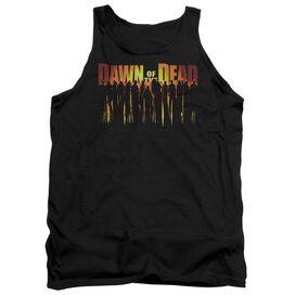 Dawn Of The Dead Walking Dead Adult Tank