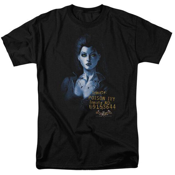 BATMAN AA ARKHAM POISON IVY - S/S ADULT 18/1 - BLACK T-Shirt