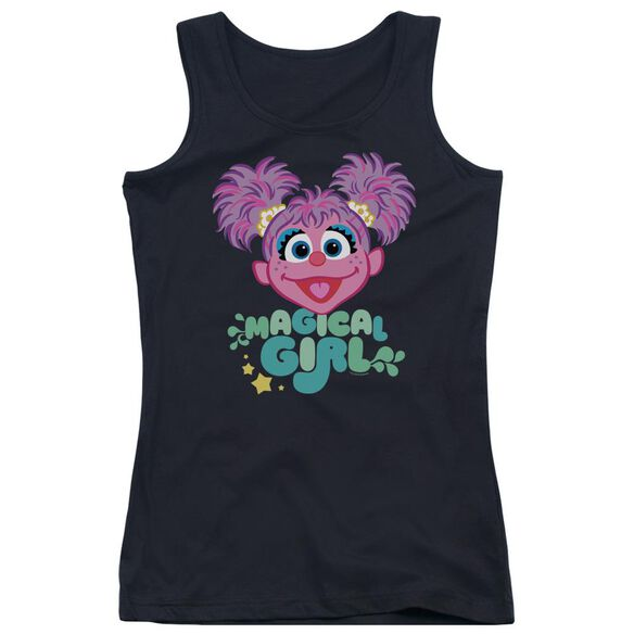 Sesame Street Scribble Head Juniors Tank Top