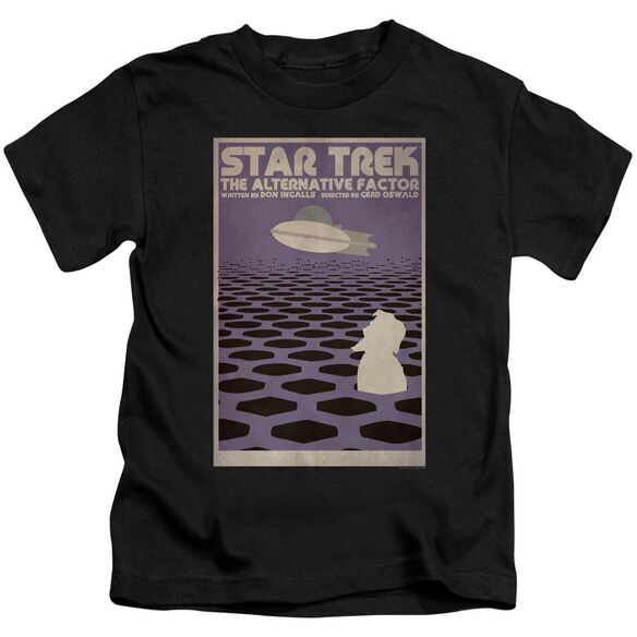 Star Trek Tos Episode 27 Short Sleeve Juvenile Black T-Shirt