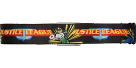 Justice League Team Rays Wrap Black Seatbelt Belt