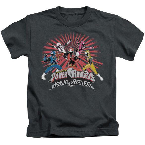 Power Rangers Ninja Blast Short Sleeve Juvenile T-Shirt