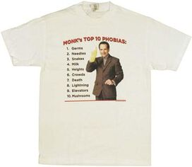 Monk Phobias T-Shirt