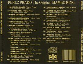Perez Prado - Original Mambo King