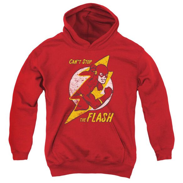 Dc Flash Bolt Youth Pull Over Hoodie