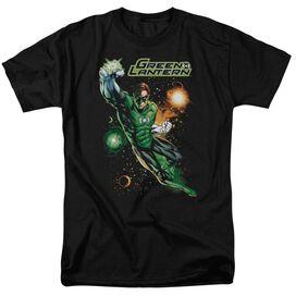 Jla Galactic Guardian Short Sleeve Adult T-Shirt