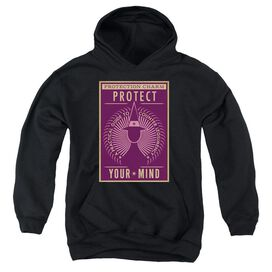 Fantastic Beasts Protect Your Mind Youth Pull Over Hoodie