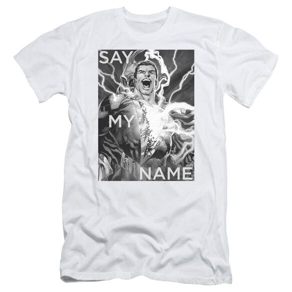 Jla Say My Name Short Sleeve Adult T-Shirt