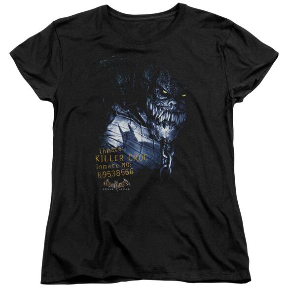 Batman Aa Arkham Killer Croc Short Sleeve Womens Tee T-Shirt
