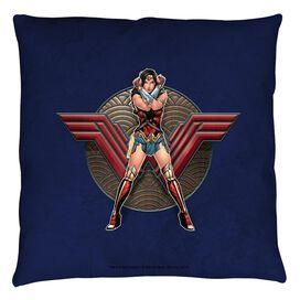 Wonder Woman Movie Warrior Emblem Throw