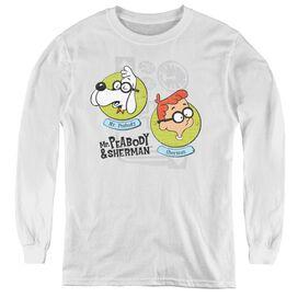 Youth Deep Conversation T-Shirt Mr Peabody /& Sherman