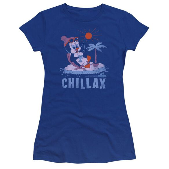 Chilly Willy Chillax Premium Bella Junior Sheer Jersey Royal