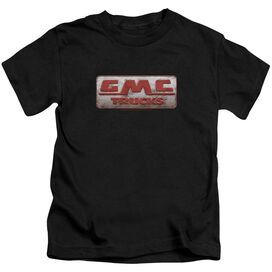 Gmc Beat Up 1959 Logo Short Sleeve Juvenile T-Shirt